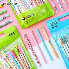 <b>20Pcs</b>/Set Erasable Gel Pen Kawaii Stationery Korean Cute Pen <b>Gift</b> ...