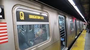 A man was hit by a Manhattan bound Q