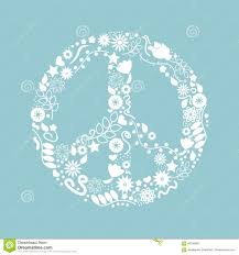 International Day Of Peace. Nice Icon With White Birds, Stars, And ...