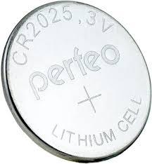 <b>Батарейка</b> CR2025 литиевая <b>Perfeo CR2025</b>/<b>5BL Lithium</b> Cell 5 шт