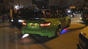 Widebody BMW <b>M4 F82</b> Shooting Flames! - YouTube