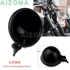 5.75'' Motorcycle LED Headlight Shell For Harley Sportster 883 ...