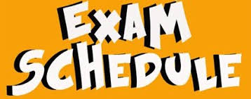 Image result for exam schedule images