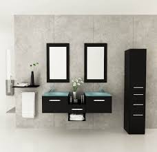 estrella double vessel sink modern bathroom vanity furniture set amazing contemporary bathroom vanity