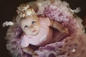 baby girl ballerina feathers baby girl