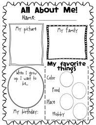 1000+ ideas about All About Me Worksheet on Pinterest | All About ...All About Me Poster Freebie...have them do at the beginning and end of each school year! Yup! Oh My!!! I remember my kids doing these same posters when they ...