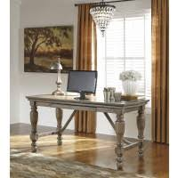 tanshire home office desk baybrin rustic brown home office small