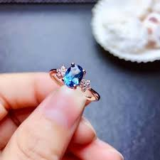 2019 <b>Shilovem 925 Silver Sterling</b> Rings Natural London Blue ...