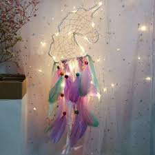 Buy Mystical Glowing <b>Unicorn Dream Catcher</b> Online India - Mango ...