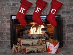 KFC introduces a firelog that smells like greasy fried chicken / Boing ...