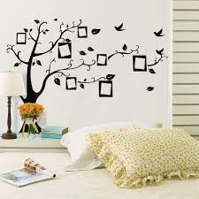wall decal family art bedroom decor hot sale wall stickers home decor family picture photo frame tree wall quote art stickers pvc decals home decor wallpaper house