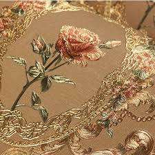 New luxury <b>European</b> golden <b>floral wallpaper</b> Luxury Rose flowers ...