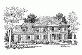 Eplans Adam   Federal House Plan   Attractive Two Story Brick Home    Front