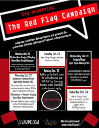 the red flag campaign engaging community use campus resources to the fullest