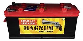<b>Аккумулятор</b> автомобильный <b>Magnum</b> 190 А/ч 1200 A клеммы ...