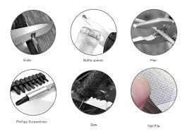 Folding Cutting <b>Pliers Multitool Knife</b> Wire Cutter Crimping <b>Tool</b> Multi ...