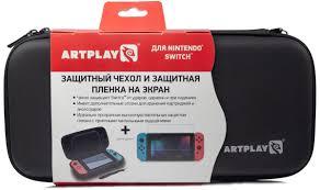 Artplays <b>Чехол и защитная пленка</b> для Nintendo Switch — купить в ...