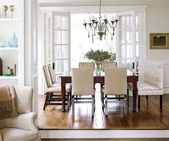 dining room rug ideas inspiration bhg centsational style dining room no area rug bhg