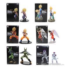11-<b>21cm Dragon Ball Z</b> Vegeta Trunks Son Goku Gohan Cell Frieza ...