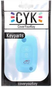 Finest-Folia <b>AB Silicone</b> Key Cover for 3-Button <b>Car Keys</b>