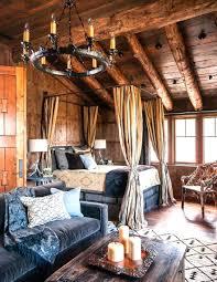 bedroom log cabin ideas
