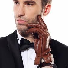 2019 New <b>Men's</b> Genuine Leather <b>Gloves Male Spring</b> Autumn Thin ...
