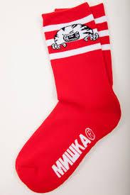 <b>Носки MISHKA Printed Socks</b> MAW183303F75 Red, купить, цена с ...