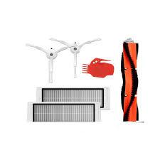 <b>6pcs Vacuum Cleaner</b> parts 2 x side brush + 2 x <b>HEPA filter</b> + 1 x ...