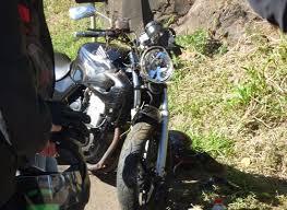 Acidente deixa motociclista ferido na BR-153, em Severiano de Almeida