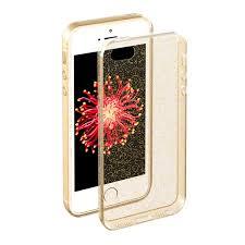 <b>Чехол Deppa Chic Case</b> полиуретан, цвет золотой, для iPhone 5 ...