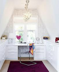 small attic home office attic office ideas