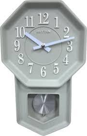 Настенные <b>часы Rhythm CMP545NR05</b> с маятником — купить в ...