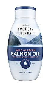 American Journey <b>Wild Alaskan Salmon Oil</b> Liquid Dog & Cat ...