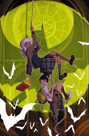 Comics and Human Rights An Interview with the Gotham Academy Team. Gotham Academy