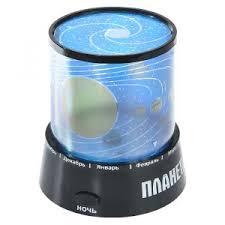 """<b>Ночник</b>-<b>проектор</b> """"Планетарий"""", цвет: черный. 93975 <b>Эврика</b>, код ..."""