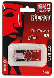 <b>GENUINE KINGSTON</b> DT101 G2 8 GB <b>USB Flash Drive</b>: Amazon.co ...
