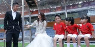 Foto Pre-Wedding Gunawan dan Okie Agustina