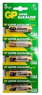 <b>Батарейка</b> GP Super Alkaline <b>AA</b> — купить по выгодной цене на ...