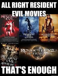 Resident Evil Again memes | quickmeme via Relatably.com
