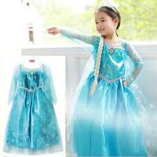 Promotion High Quality Girls <b>Princess Anna Elsa Cosplay</b> Costume ...