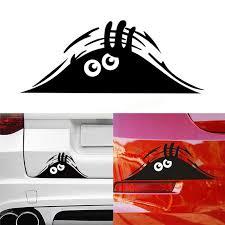 Car sticker <b>funny 3D big</b> eyes peek at monster sticker for Porsche ...