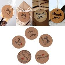 <b>100pcs Handmade</b> Hang Label Favor Gift Dessert Tags Price Tag ...