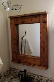 wood bathroom mirror digihome weathered: wooden bathroom mirrors digihome simple bathroom mirrors with wood frames on small home renovating ideas with bathroom mirrors with wood frames