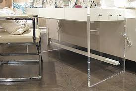 lucite desks acrylic office desk