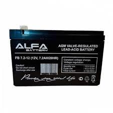 <b>Аккумулятор ALFA Battery</b> FB 7,2-12 (<b>12V</b> / 7.2Ah)
