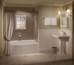 sliding bathroom mirror: amazing bathroom remodeling with double hadle faucet on side marvellous shower bath white bathtub added sliding
