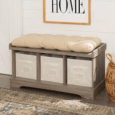 Extra <b>Large Storage Bench</b> | Wayfair
