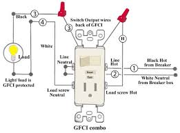 wiring diagram for gfi and light switch the wiring diagram how to wire cooper 277 pilot light switch wiring diagram