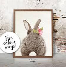 <b>Watercolor</b> bunny in grey tones, Woodland nursery, Animal ...