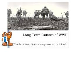 long term causes of wwi powerpoint lesson plan resource long term causes of wwi lesson plan
